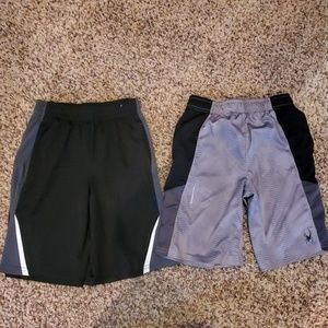 Other - 2 pair of boys gym shorts size 10/12